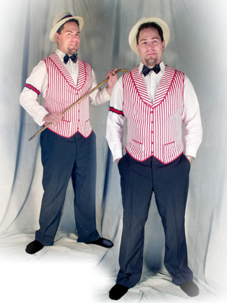 Barbershop Quartet Costume : Barbershop Quartet